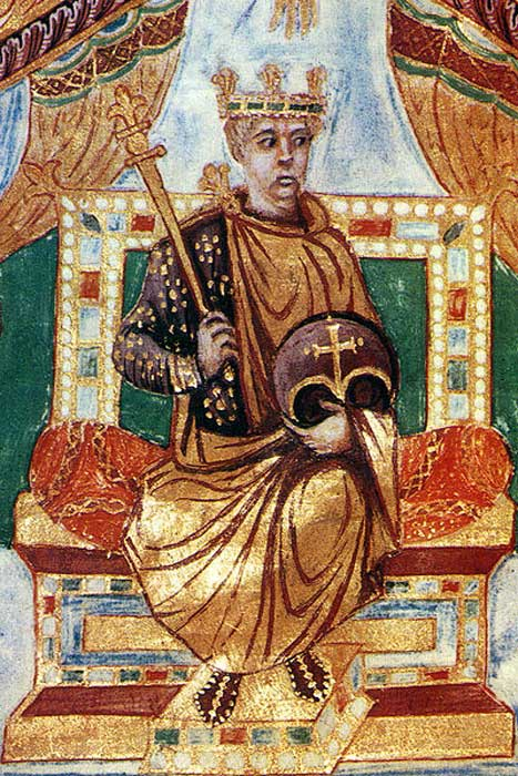 Charles the Bald, Holy Roman Emperor