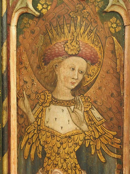 Cherubim from Barton Turf Rood Screen, Norfolk, U.K.