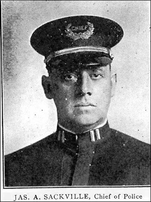 Chief James Sackville Bristol Chief of Police (courtesy Chief Arnold Porter 2013/ Author provided)