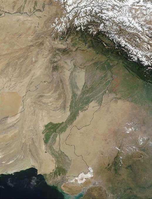 The Cholistan Desert.