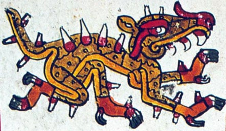 Ten mythological creatures in ancient folklore ancient origins cipactli the aztec creator gumiabroncs Image collections