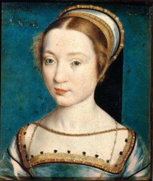 Claude of France, wife of Francis I. Anne served as her maid of honor for nearly seven years