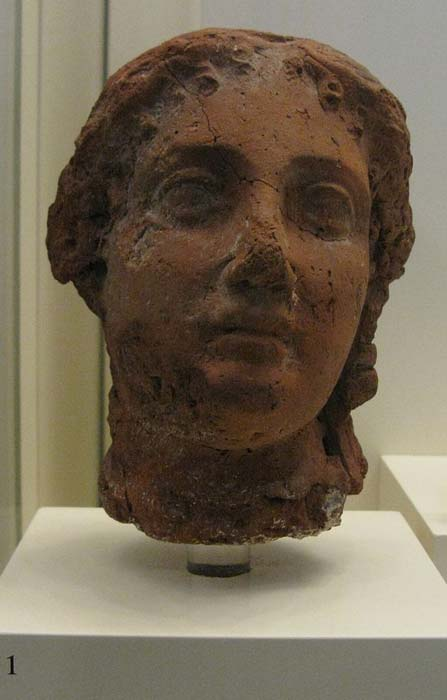 Clay head of Queen Arsinoe II. In order to position her sons for the throne, she had Lysimachus's first son, Agathocles, killed on account of treason. (Tilemahos Efthimiadis from Athens, Greece / CC BY 2.0)