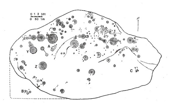 Cochno Stone petroglyphs