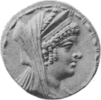 Coin of Cleopatra Thea. (Public Domain)