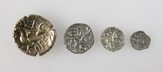 Coins from the Hallaton Treasure