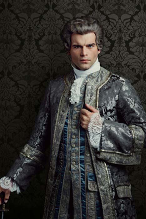 Comte St. Germain, a fictional character in the series Outlander loosely based off the historical figure.