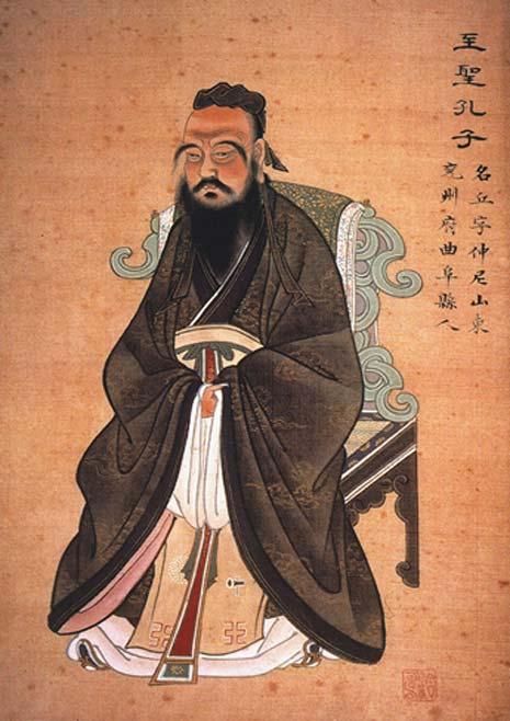 Confucius (Public Domain)