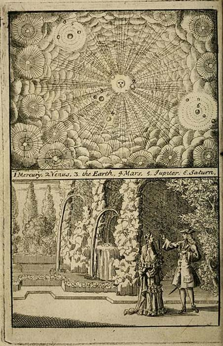 Conversations on the plurality of worlds, 1715