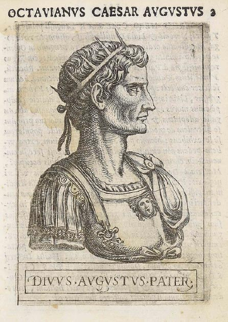 Copper engraving of Augustus. (Diego Gasperotti / Public Domain)
