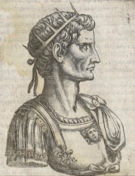 Copper engraving of Emperor Octavian. (Diego Gasperotti / Public Domain)