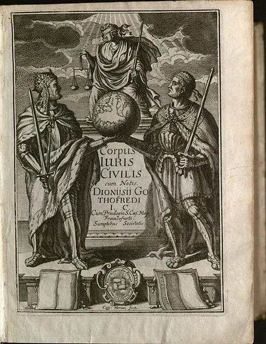 Corpus Iuris Civilis. (Yale Law Library/CC BY 2.0)