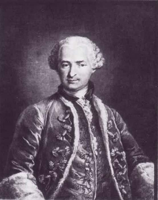 Count of Saint Germain.