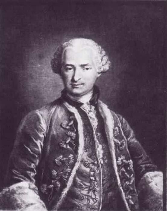 Count of Saint Germain.