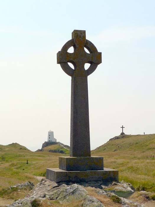 Crosses on Llanddwyn Island.