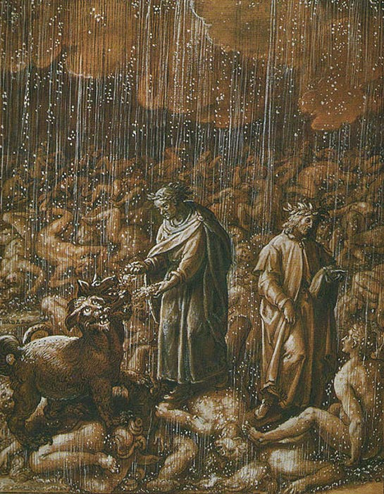 Dante's Inferno, Canto 6 (1587), Stradanus