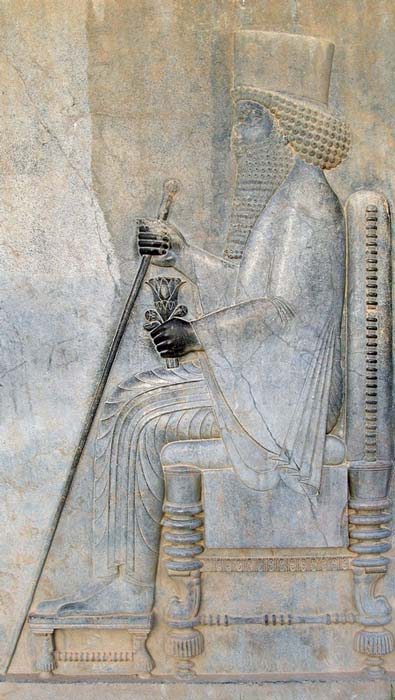 Relief of Darius I in Persepolis