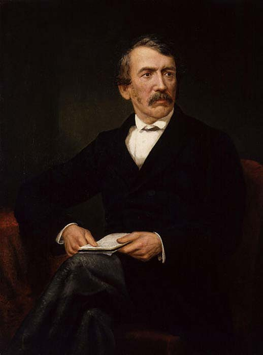 David Livingstone, by Frederick Havill, given to the National Portrait Gallery, London in 1896. (Public Domain)