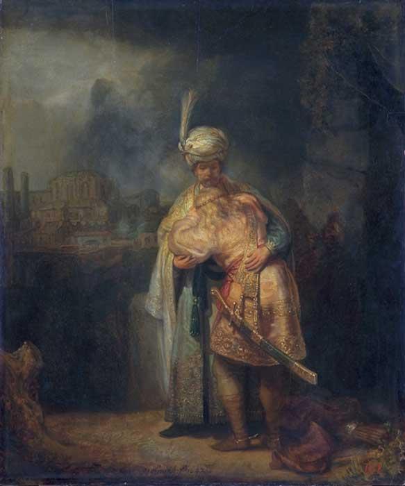 David and Jonathan (1642).
