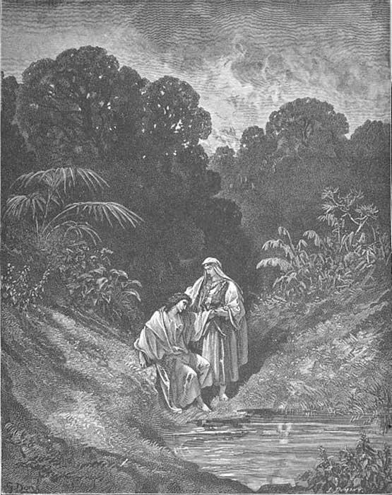 David and Jonathan (1Sam. 20:42)