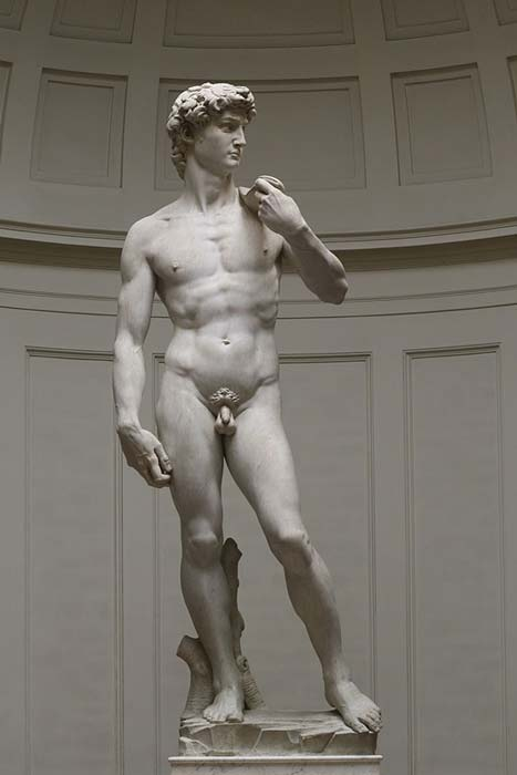 David by Michelangelo, Florence, Galleria dell'Accademia, 1501-1504