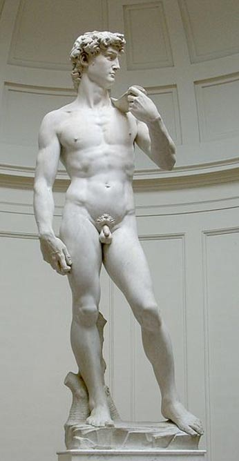 Michelangelo's 'David.' Florence, Italy.