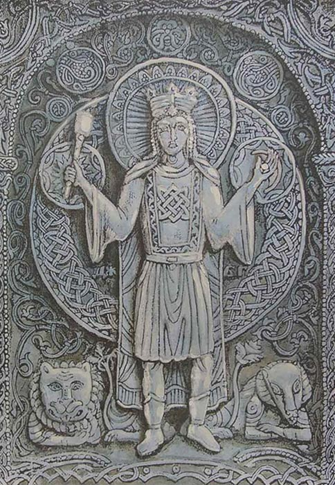 The Slavic Star Goddess Zorya Guardian Of The Doomsday Hound And