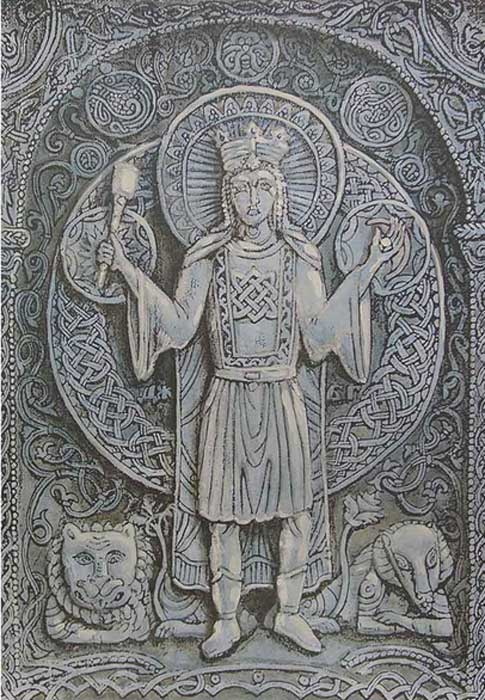 Dažbog - one of the major gods of Slavic mythology, most likely a solar deity and possibly a cultural hero.