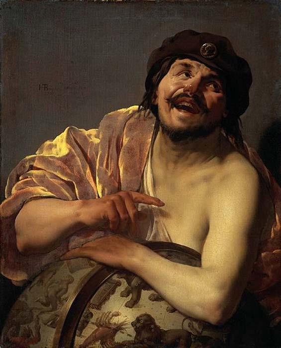 Democritus (by Hendrick ter Brugghen).