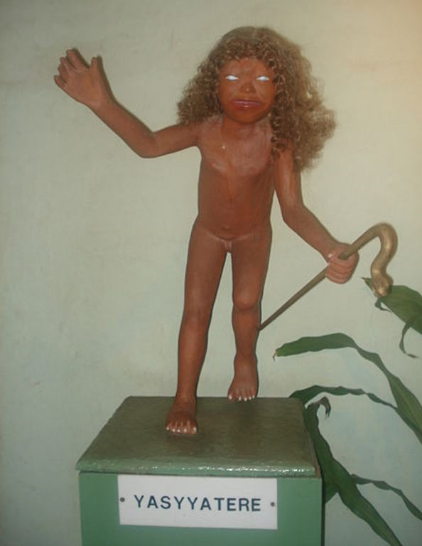 Depiction of Jasy Jatere from the Mythical Museum Ramón Elías