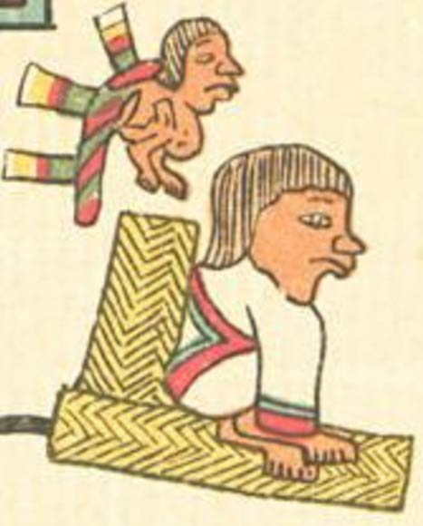 Depiction of ruler Nezahualcoyotl