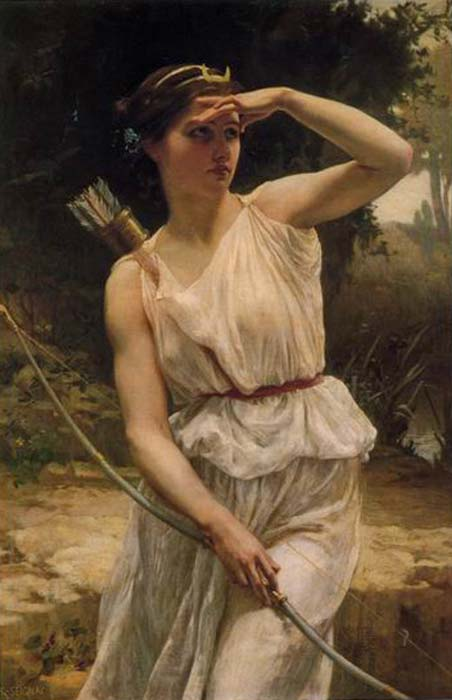 'Diana Hunting' by Guillaume Seignac. (CC BY 2.0)