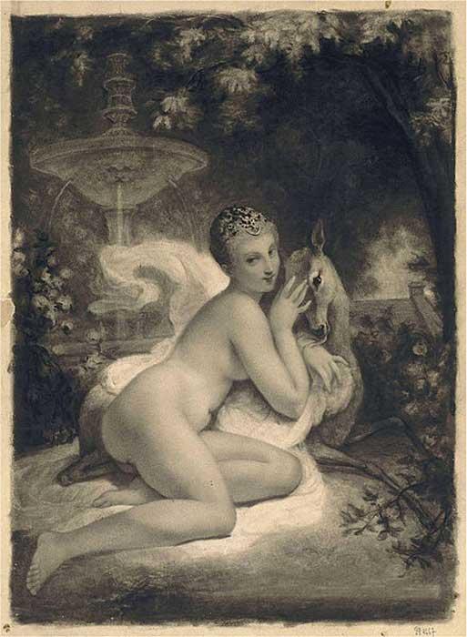 Diane de Poitiers by Francois Souchon.