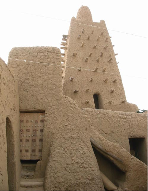 The heart of the Djingareiber mosque in Timbuktu.