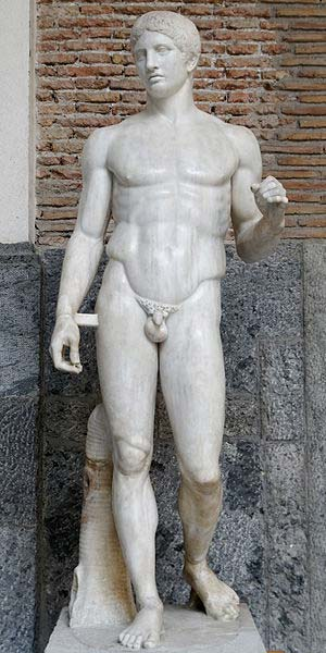 Doryphoros from Pompeii. (Marie-Lan Nguyen/CC BY 2.5)