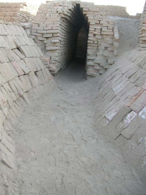 Drain from Great Bath at Mohenjo-Daro. (Hemanshu Kumar/CC BY NC ND 2.0)