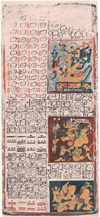 Dresden codex, page 49