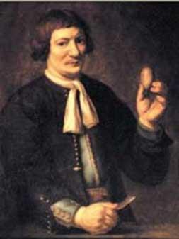 This Dutch blacksmith, Jan de Doot, removed his own bladder stone