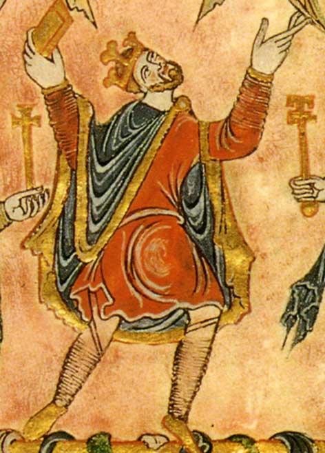 Eadwig's brother, Edgar became King