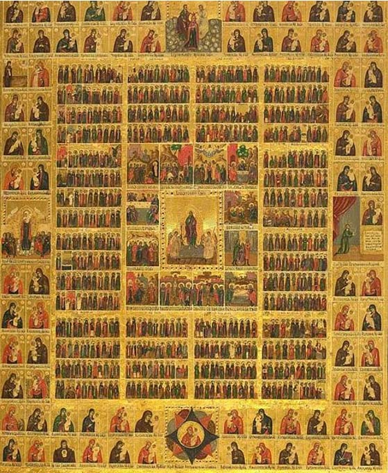 Eastern Orthodox calendar of Saints.