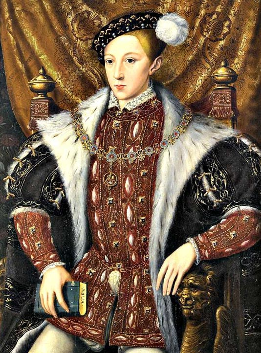 Edward VI of England, the long-awaited male heir of Henry VII, died when he was only 15 years old.