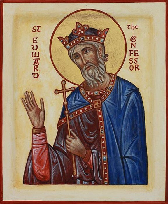 Edward the Confessor was also canonized as an English Saint (Aidan Hart / CC BY 3.0)