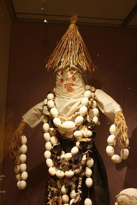 Effigy of Morana (Death Goddess). Czech Republic.