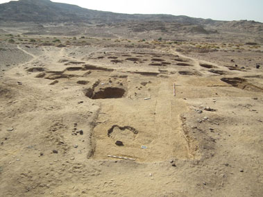 Egyptian site of Hierakonpolis