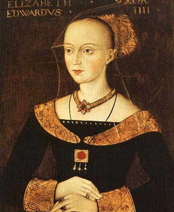 Elizabeth Woodville (1437–92), Queen Consort of Edward IV of England