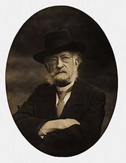 Émile Cartailhac, one of the scientific leaders who initially rejected Sanz de Sautuola's claims.