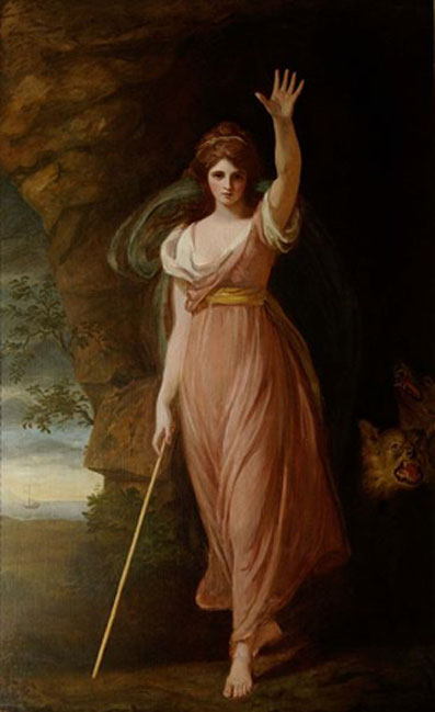 Emma Hart, Lady Hamilton, as Circe (1782) by George Romney. (National Trust, Waddesdon Manor/CC BY SA 4.0)