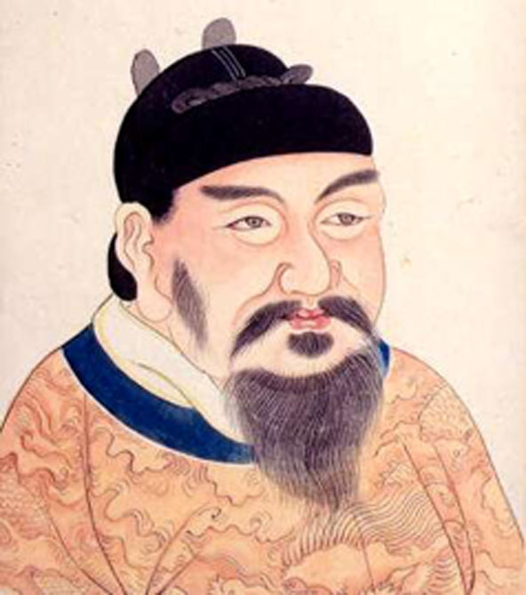Emperor Gaozong of Tang - during his reign Wu Zetian became the highest ranking concubine. (Magnus Manske / Public Domain)