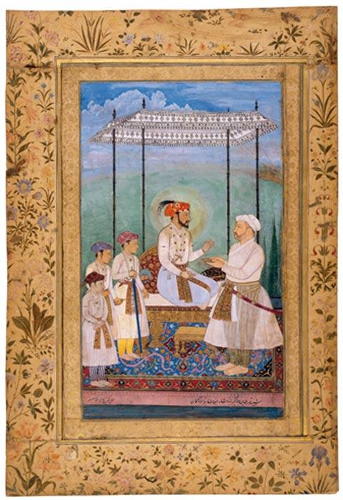 Emperor Shah Jahan (circa 1628).
