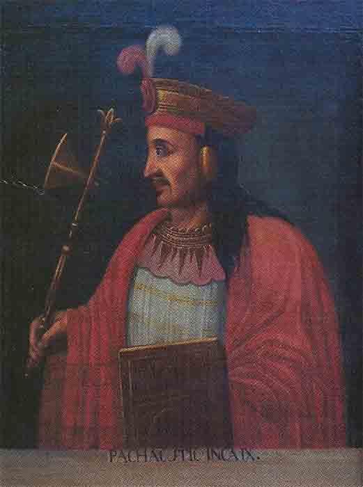 """Emperor Pachacuti, the 9th Inca Sapa, who made the Inca Empire with his """"own hands."""" (Cuzco School / Public domain)"""